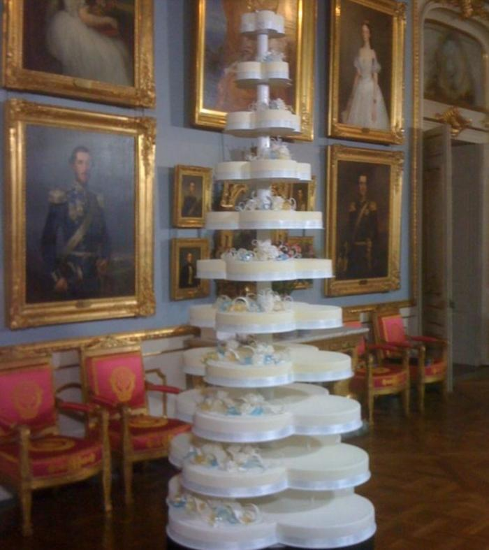 Princess Madeleine Wedding Cake